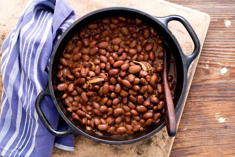 Smoky chili beans | Homesick Texan