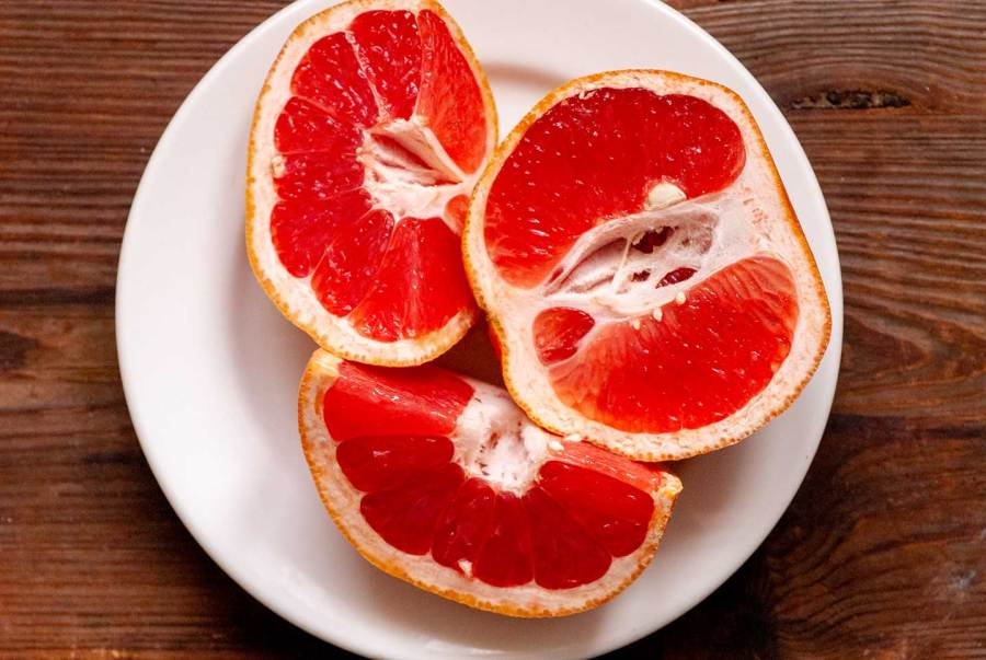Ruby red grapefruit chess bars | Homesick Texan