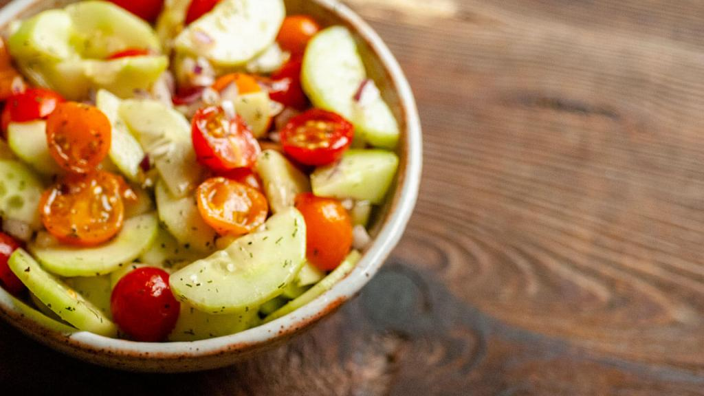 Cucumber and tomato salad   Homesick Texan