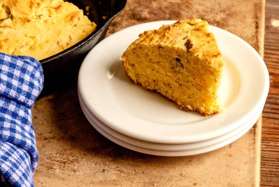 Hatch chile cornbread | Homesick Texan