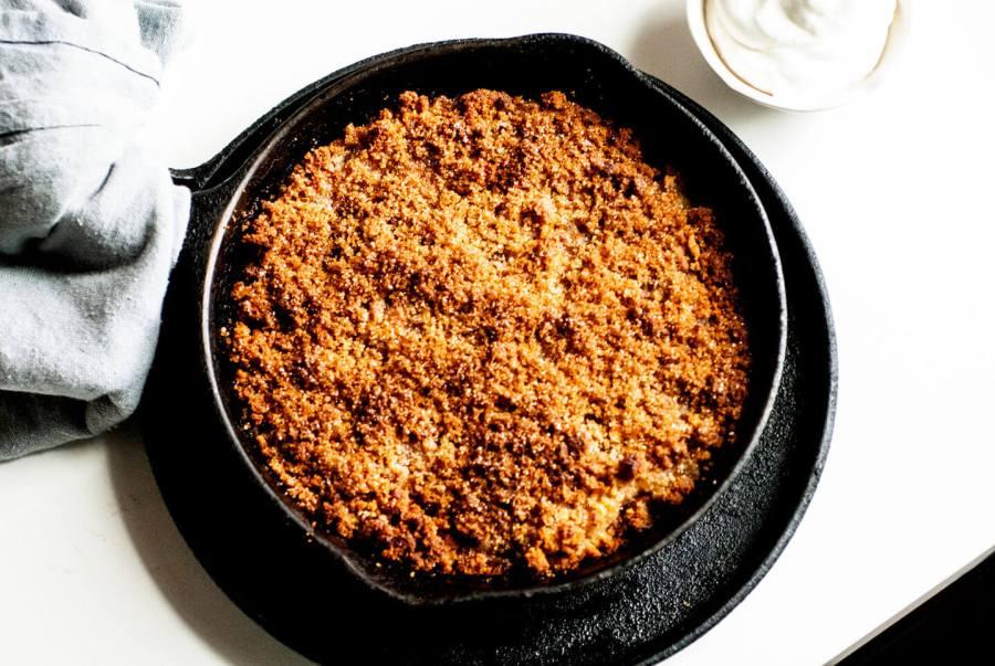 Danish apple cake (aeblekage) | Homesick Texan