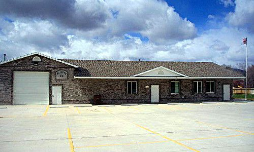 The town hall for Fayette Utah.