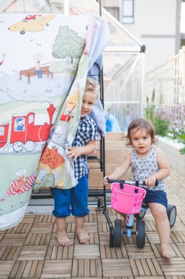Pan Henryk i Panna Polianna, wrzesień 2016, foto: Ewa Przedpełska dla IKEA FAMILY