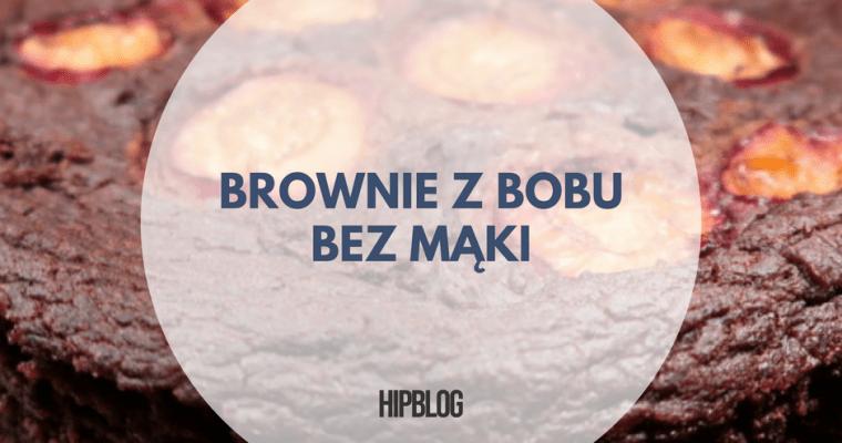 Brownie z bobu – ciasto czekoladowe bez mąki