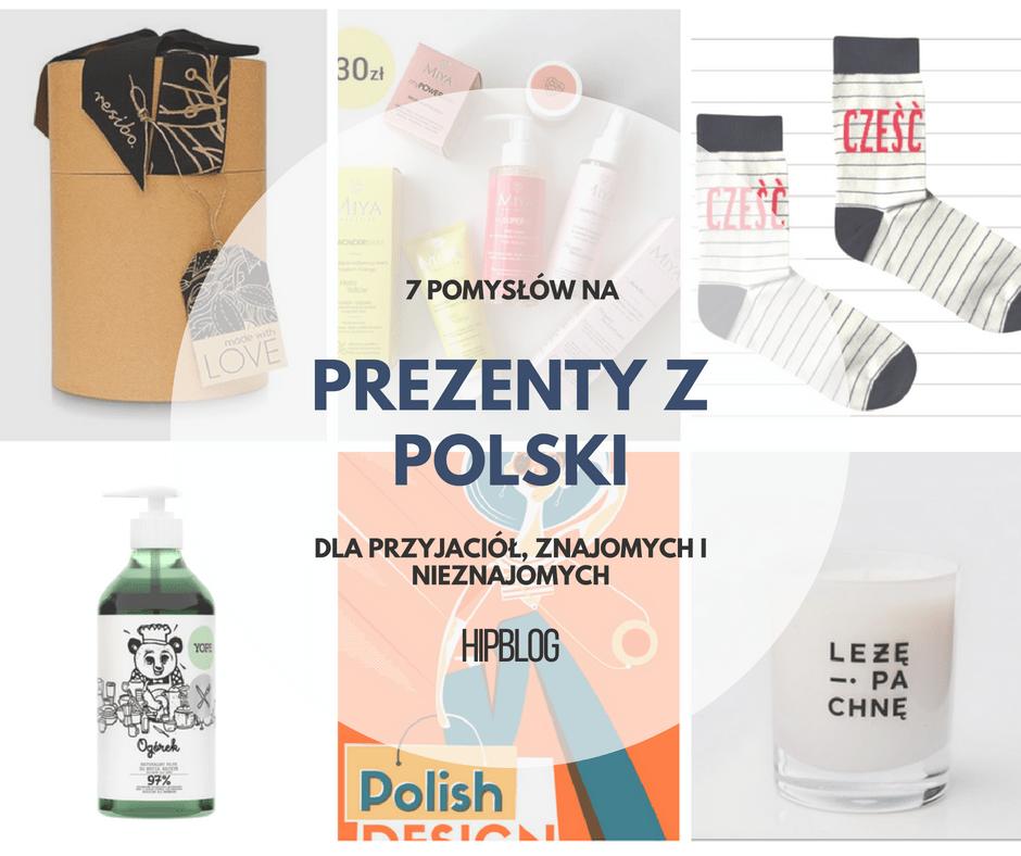 Pomysły na prezenty z Polski
