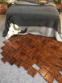 Drewniana marokańska mozaika
