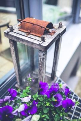 wood-flowers-purple-vintage