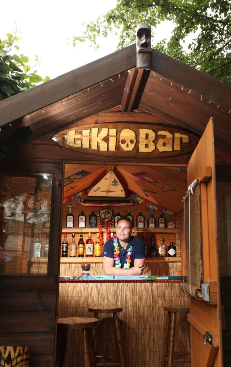 He-Shed, She-Shed, Bar-Shed: The Rise of the Custom Hobby ... on Small Backyard Bar Ideas id=20511
