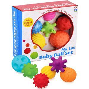 Baby Sensory Balls in Box set of 6 baby sensory balls