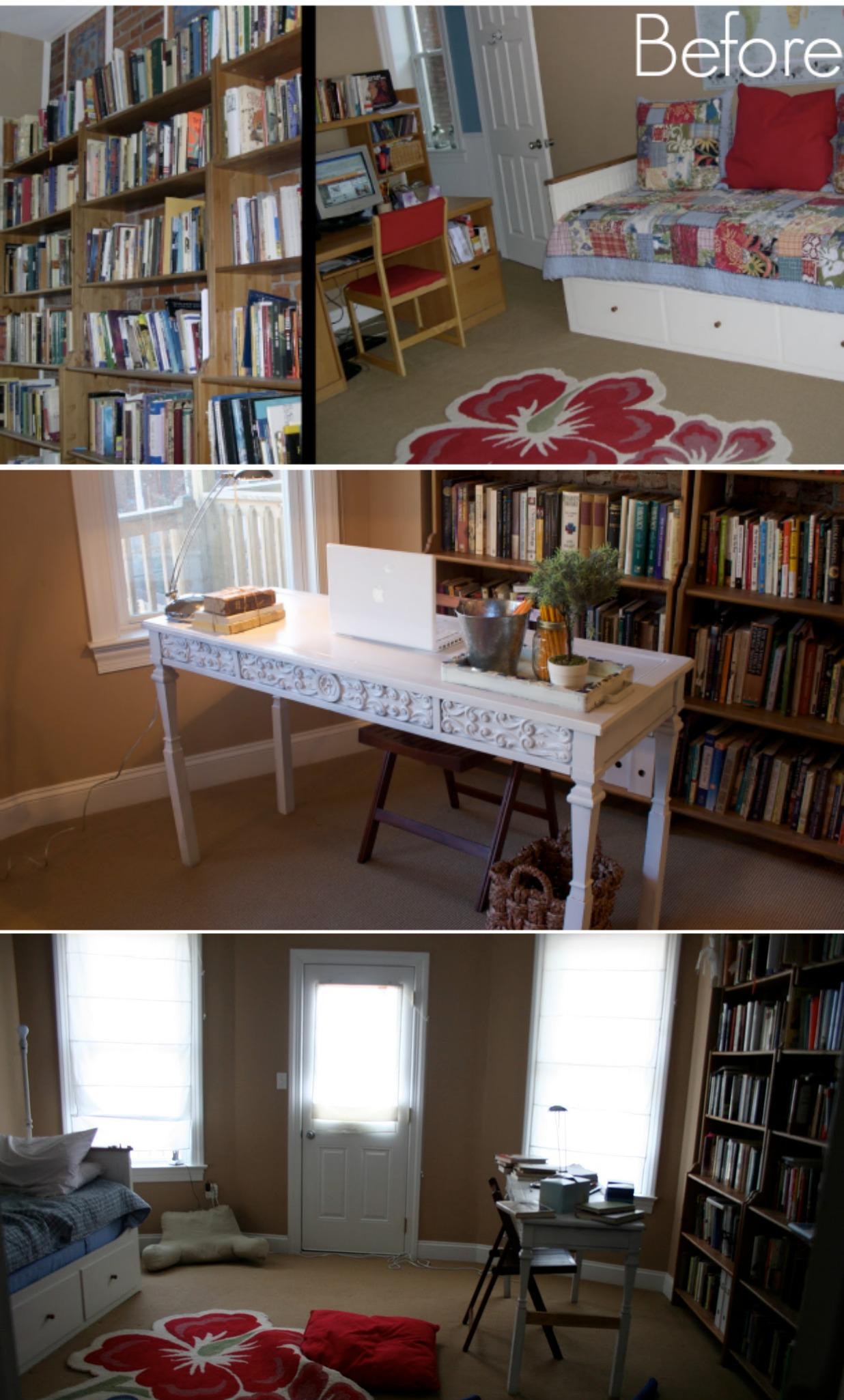 Ikea Hack Billy Built In Bookshelves Part 1