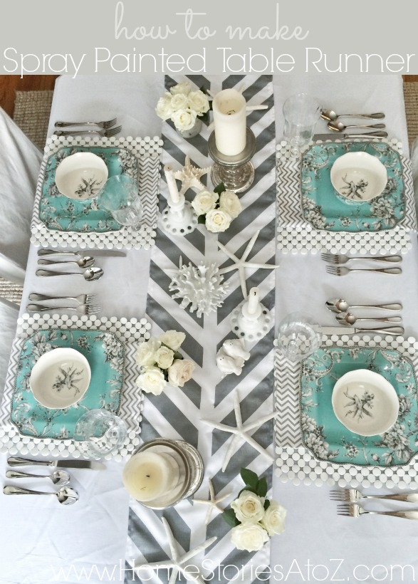 How To Make A Painted Table Runner Home Stories A To Z