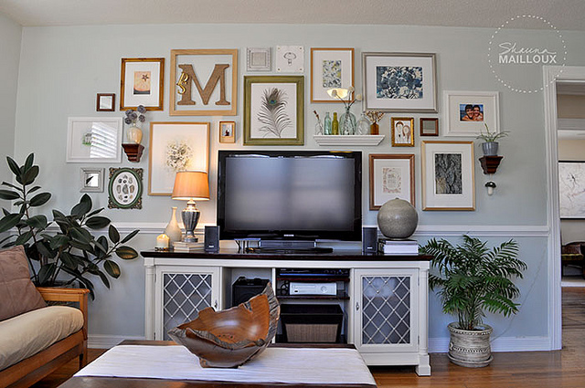 How To Decorating A Living Room With Flat Screen Tv Ckeydesign