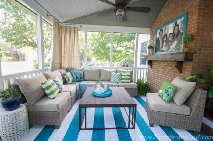 screen porch makeover home stories a to z
