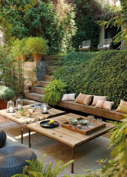 outdoor patio living space 20 Amazing Backyard Living Outdoor Room Ideas