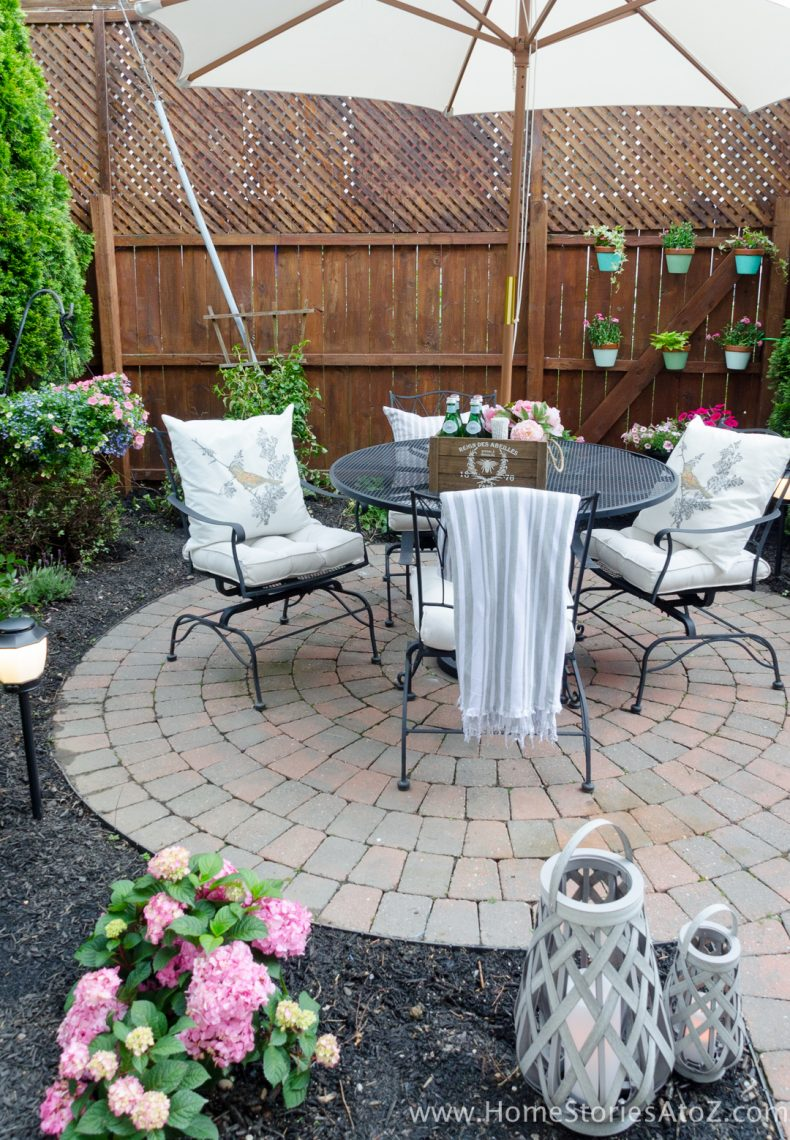Urban Backyard Makeover with Outdoor Mosquito Repellent ... on Cheap Backyard Patio Ideas id=75571