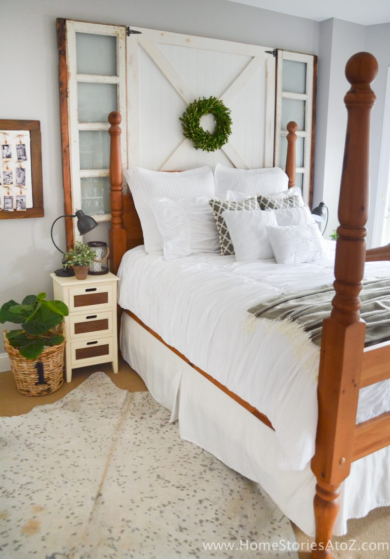 5 Affordable Tips to Creating a Modern Farmhouse Look in ... on Bedroom Farmhouse Decor  id=26531