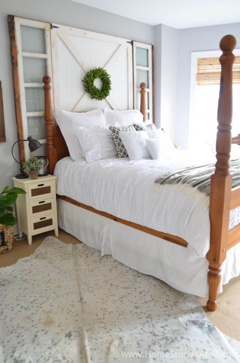 5 Affordable Tips to Creating a Modern Farmhouse Look in ... on Bedroom Farmhouse Decor  id=73977