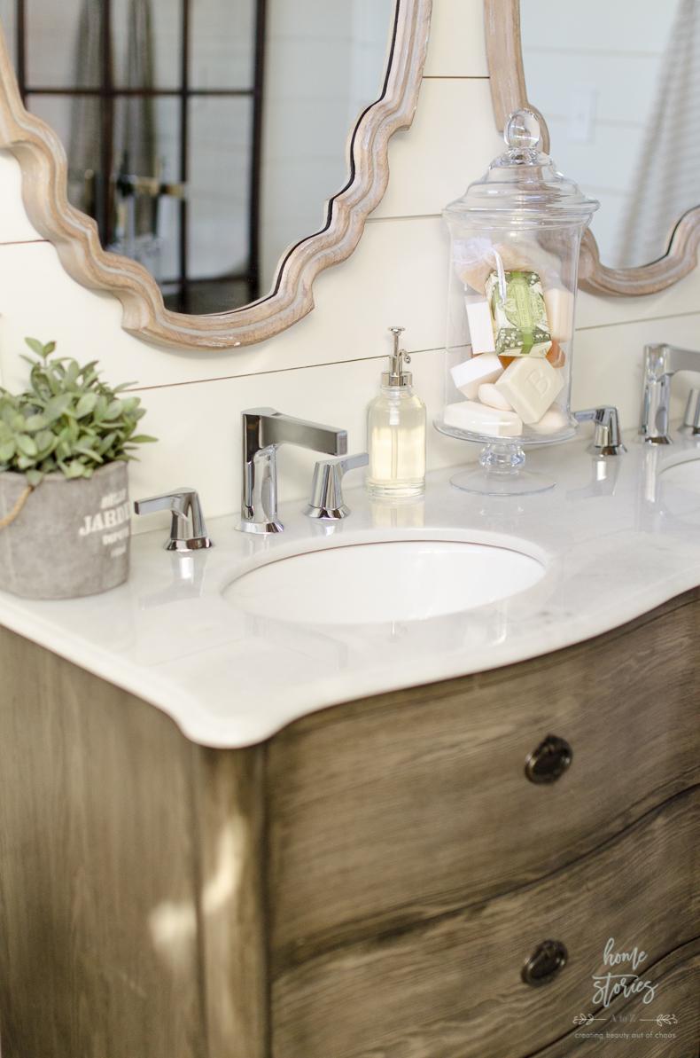 Beautiful Urban Farmhouse Master Bathroom Remodel on Bathroom Ideas Modern Farmhouse  id=76790