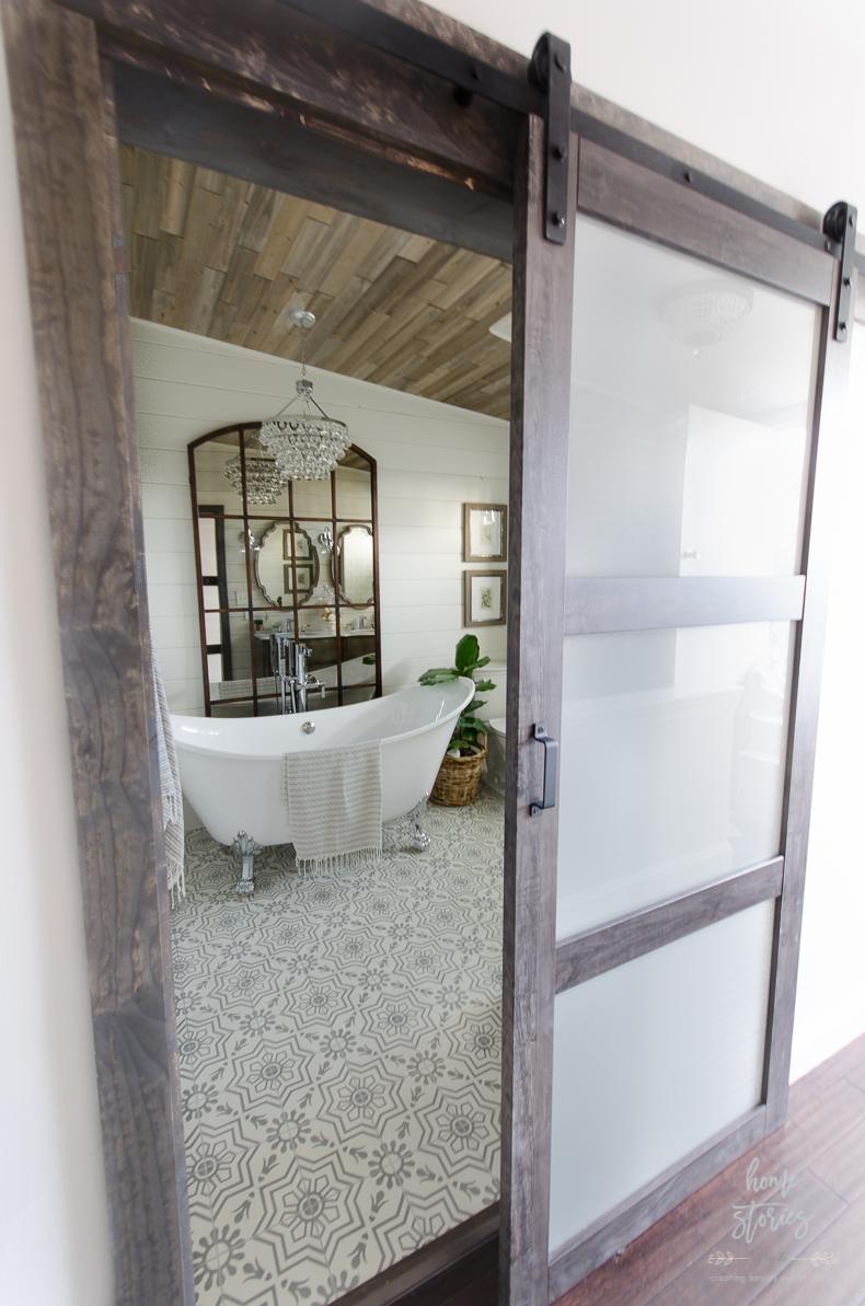 Urban Farmhouse Master Bathroom Remodel on Farmhouse Bathroom Remodel Ideas  id=56692