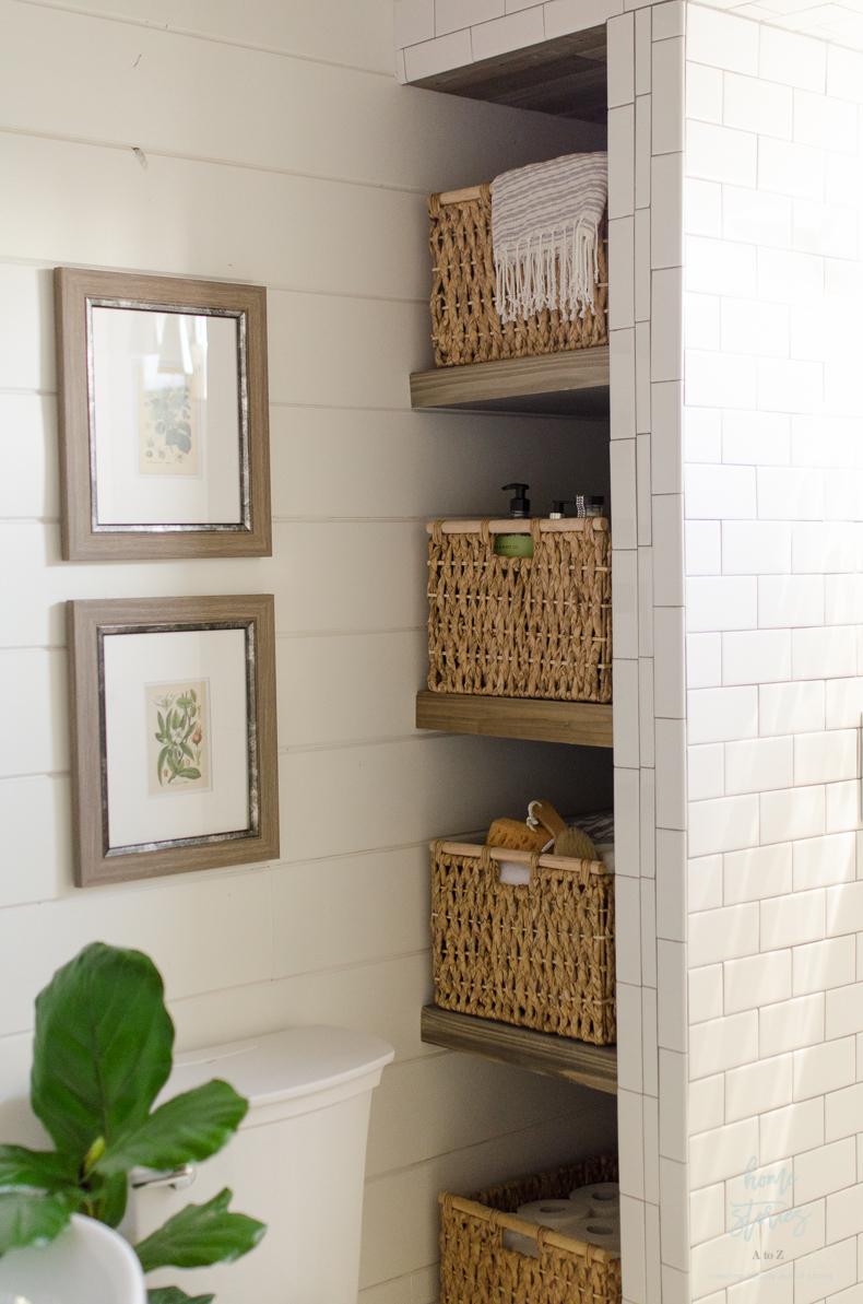 Beautiful Urban Farmhouse Master Bathroom Remodel on Farmhouse Shower Ideas  id=68186