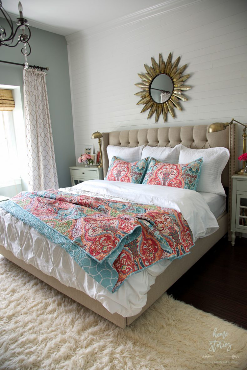How to Refresh a Bedroom with Low-Cost Updates on Boho Bedroom Ideas On A Budget  id=30948