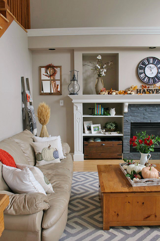 35+ Fall Living Room Decorating Ideas on Room Decoration Ideas  id=62915
