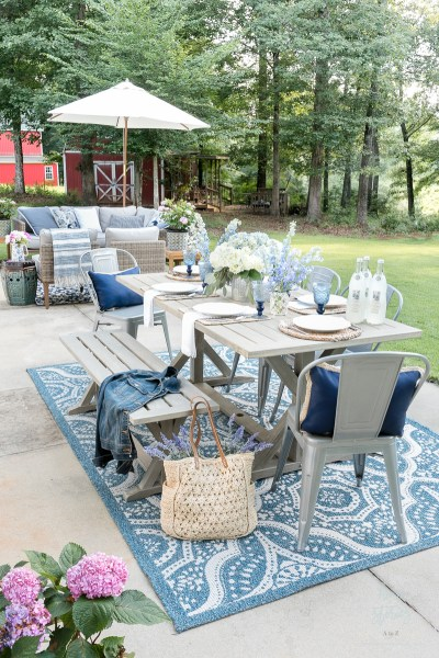 outdoor patio decorating ideas My Affordable Patio Furniture and Outdoor Decorating Tips