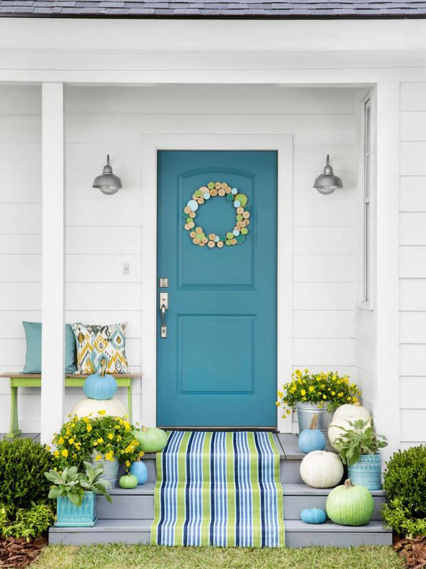 32 BEST FRONT DOOR PAINT COLOR IDEAS on Door Color Ideas  id=40519