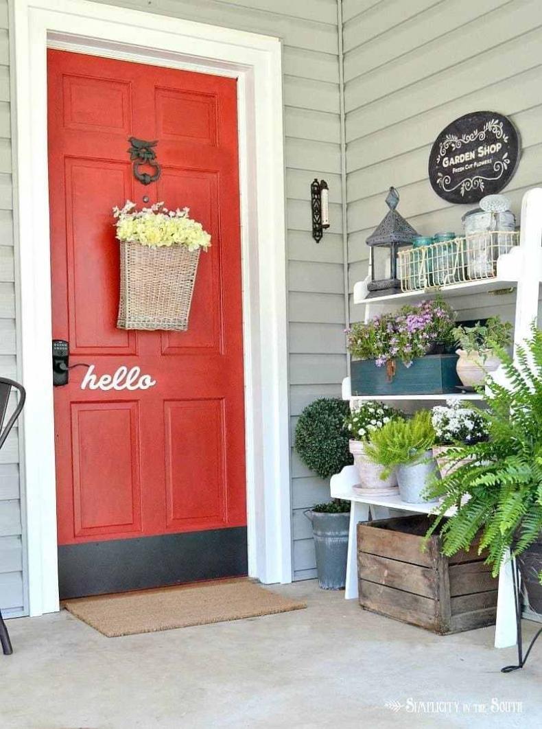 32 BEST FRONT DOOR PAINT COLOR IDEAS on Door Color Ideas  id=42162