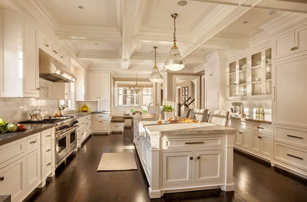 31 Custom Luxury Kitchen Designs (Some $100K Plus) on Luxury Farmhouse Kitchen  id=93466