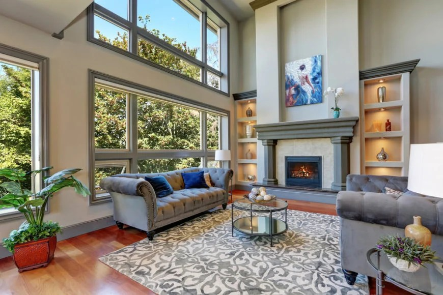 600 Living Rooms With Area Rugs For Warmth Richness Part 96