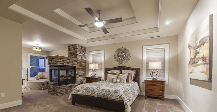 It can help keep your room cool during sweltering days while providing visual interest. 30 Glorious Bedrooms With A Ceiling Fan Home Stratosphere