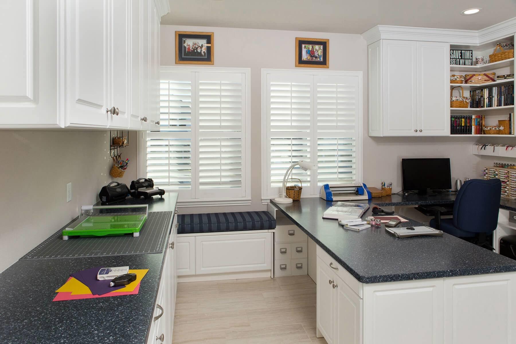 Best Kitchen Gallery: 23 Craft Room Design Ideas Creative Rooms of Home Office Room Designs  on rachelxblog.com