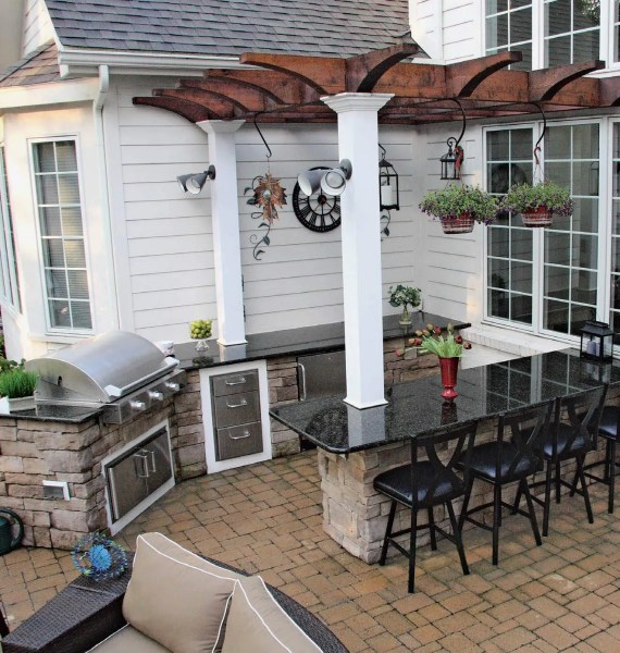 outdoor patio kitchen design 100+ Outdoor Kitchen Design Ideas (Photos) & Features