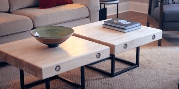 8 diy coffee table designs that will