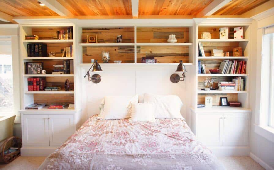 23 Types of Headboards  Buying Guide    Home Stratosphere Source  HomeDit  Bookcase headboards
