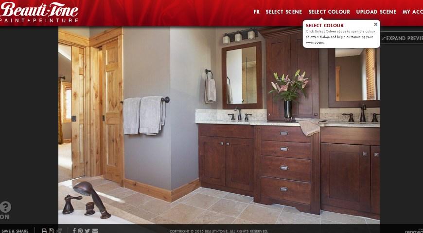 Online Bathroom Design Tool