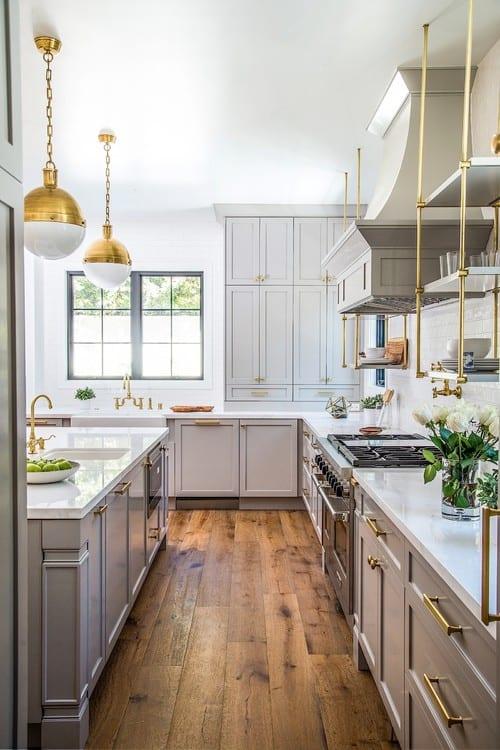 70 Transitional Kitchen Ideas for 2019 on Rustic:rkh3E0Gkuju= Farmhouse Kitchen Ideas  id=57285