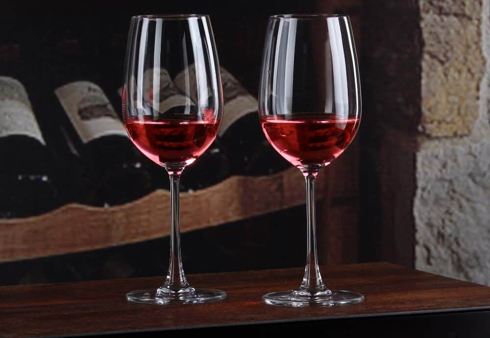 18 Types Of Wine Glasses Red Wine Dessert With Charts