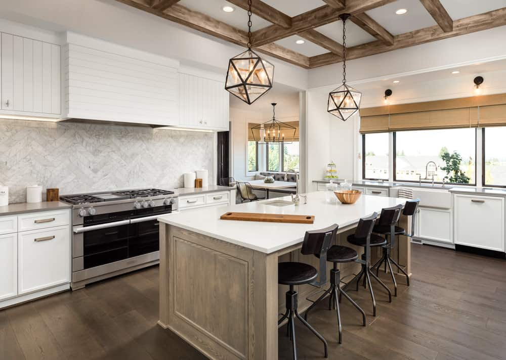 35 Kitchens with White Countertops (Photo Examples) on Kitchen  id=60988