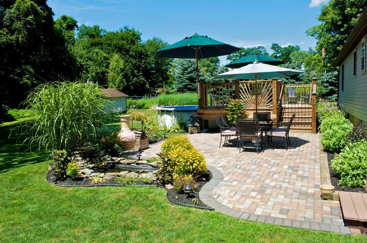 101 Patio Ideas and Designs (Photos) on Brick Ideas For Backyard id=57482