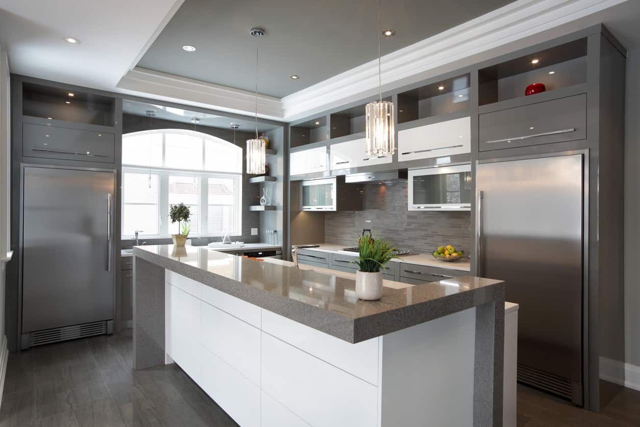 Modern Kitchen Design White