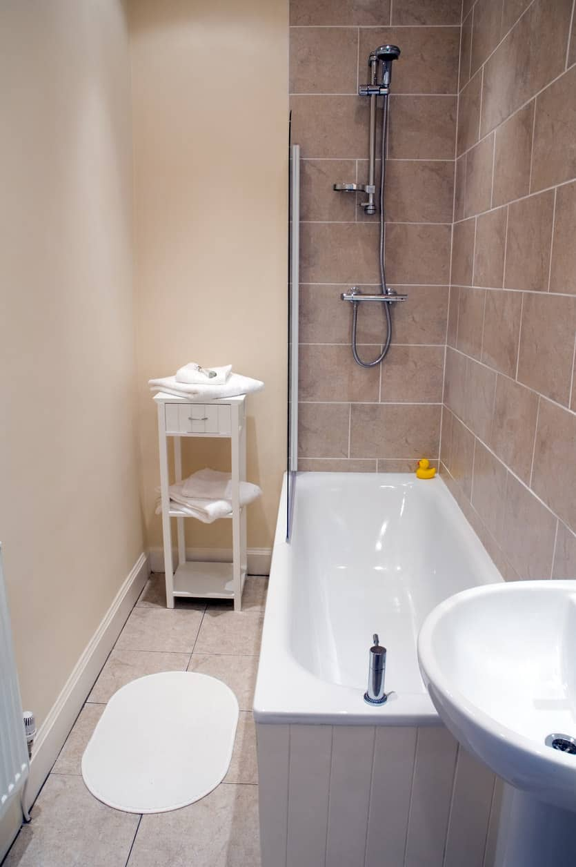 33 Terrific Small Primary Bathroom Ideas (2020 Photos) on Small Area Bathroom Ideas  id=93251