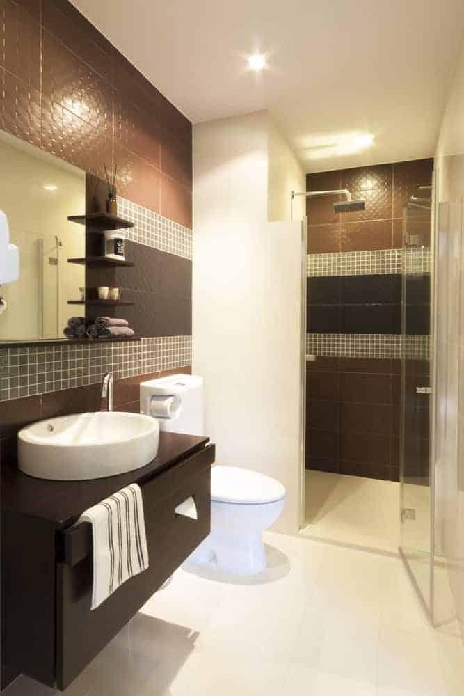 33 Terrific Small Primary Bathroom Ideas (2020 Photos) on Small Bathroom Ideas Photo Gallery id=13715