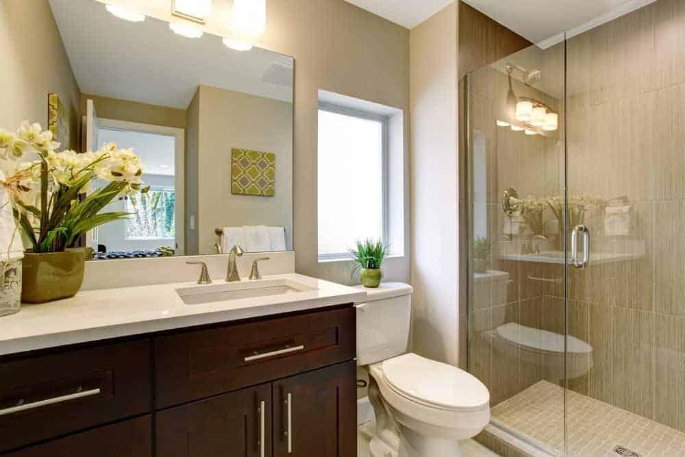 33 Terrific Small Primary Bathroom Ideas (2020 Photos) on Small Bathroom Remodel Ideas 2019  id=86366