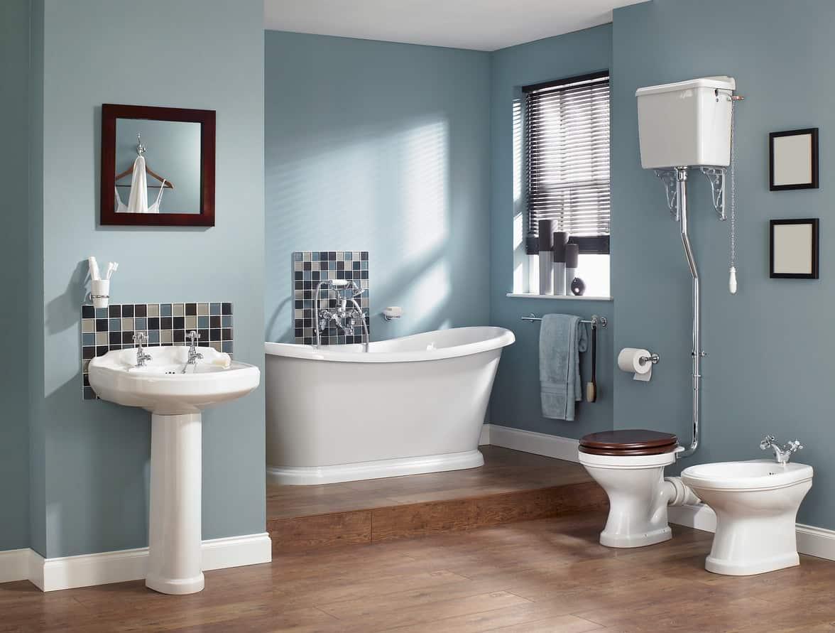 35 Beautiful Blue Primary Bathroom Ideas (Photos) on Beautiful Bathroom Ideas  id=54238