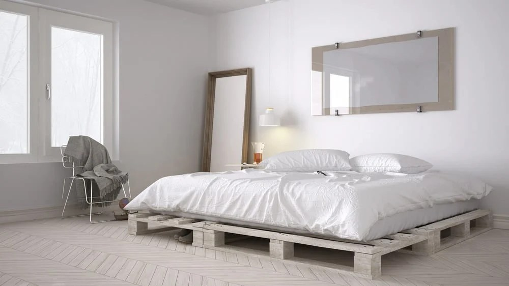 25 Pallet Bed Ideas and Projects on Bed Pallet Design  id=67979