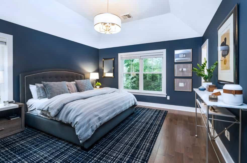 50 blue master bedroom ideas photos on Dark Blue Bedroom Ideas id=43279