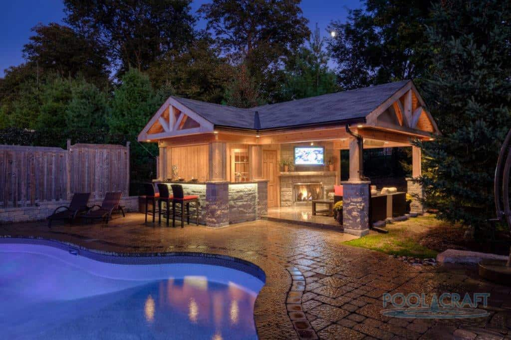 50 Swimming Pool House, Cabana and Pergola Ideas (Photos) on Cabana Designs Ideas id=36852