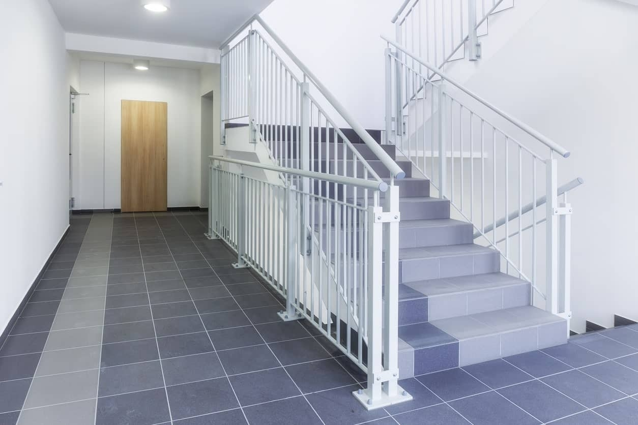 50 Staircases With Tile Flooring Photos | Tiles Design For Stairs Wall